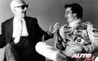 """Su posición humilde, trato amable y pasión por la competición dejaron también huella en el estricto Enzo Ferrari, que empatizó con el joven Gilles Villeneuve desde la primera cita y llegó a considerarlo casi como un """"hijo""""."""
