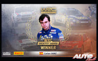 """Carlos Sainz es el """"Mejor Piloto WRC"""" de la historia"""