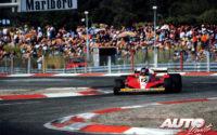 Gilles Villeneuve, al volante del Ferrari 312 T3, durante el GP de Francia de 1978, disputado en el circuito de Paul Ricard.