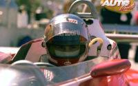 Gilles Villeneuve, sentado en el cockpit de su Ferrari 312 T3, durante uno de los Grandes Premios del Campeonato del Mundo de Fórmula 1 de 1978.