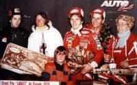 Gilles Villeneuve, al volante de un Ferrari 312 T3, obtenía su primera victoria de Fórmula 1 en el GP de Canadá de 1978, disputado en el circuito Isla de Notre Dame en Montreal.