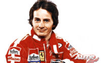 Gilles Villeneuve disputaba la temporada 1979 al volante de un Ferrari 312 T4.