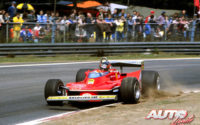 Gilles Villeneuve, al volante del Ferrari 312 T4, durante el GP de Bélgica de 1979, disputado en el circuito de Zolder.