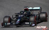 La fiesta fue de Hamilton y Mercedes. GP Toscana 2020