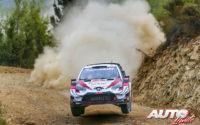 Elfyn Evans, al volante del Toyota Yaris WRC, obtenía la victoria en el Rally de Turquía 2020, puntuable para el Campeonato del Mundo de Rallies WRC.