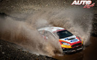 Jan Solans, al volante del Ford Fiesta R5 Mk2, durante el Rally de Turquía 2020, puntuable para el Campeonato del Mundo de Rallies WRC 3.