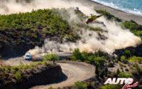 Esapekka Lappi, al volante del Ford Fiesta WRC, durante el Rally de Turquía 2020, puntuable para el Campeonato del Mundo de Rallies WRC.
