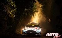 Adrien Fourmaux, al volante del Ford Fiesta R5 Mk2, durante el Rally de Turquía 2020, puntuable para el Campeonato del Mundo de Rallies WRC 2.