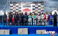 Pilotos y copilotos del Mundial de Rallies realizaron un minuto de silencio en memoria de Laura Salvo, copiloto española fallecida un día antes en un fatal accidente durante el Rally Vidreiro 2020 (Portugal).