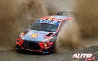 """Thierry Neuville (Hyundai) obtenía la primera posición en la clasificación final """"Power Stages"""" del Campeonato del Mundo WRC 2020."""
