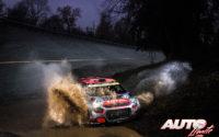 Mads Ostberg, al volante del Citroën C3 R5 WRC 2, durante el Rally de Monza 2020, puntuable para el Campeonato del Mundo de Rallies WRC 2.