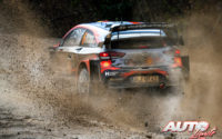 Dani Sordo, al volante del Hyundai i20 Coupé WRC, durante el Rally de Monza 2020, puntuable para el Campeonato del Mundo de Rallies WRC.