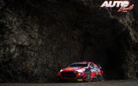 Dani Sordo, al volante del Hyundai i20 Coupé WRC, durante el Rally de Montecarlo 2021, puntuable para el Campeonato del Mundo de Rallies WRC.