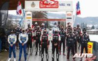 Pilotos y copilotos WRC durante el Rally de Montecarlo 2021, primera prueba puntuable del Campeonato del Mundo de Rallies WRC 2021.