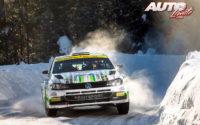Esapekka Lappi, al volante del Volkswagen Polo GTI Rally 2, obtenía la victoria de la categoría WRC 2 en el Rally Ártico de Finlandia 2021, puntuable para el Campeonato del Mundo de Rallies WRC 2.