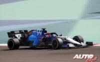 George Russell, al volante del Williams-Mercedes FW43B, durante los test de pretemporada realizados en el Circuito Sakhir de Barhéin.