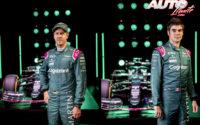 Sebastian Vettel y Lance Stroll son los dos pilotos oficiales del equipo Aston Martin F1 en la temporada 2021.