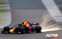 Max Verstappen, al volante del Red Bull-TAG Heuer Renault RB14, durante el GP de China 2018 de Fórmula 1, disputado en el Circuito de Shanghai.