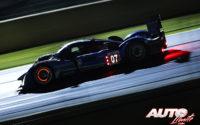 """Marc Gené, Anthony Davidson y Alexander Wurz pilotaron este Peugeot 908 HDI FAP LMP1 durante la """"Petit Le Mans 2010"""" disputada en el Circuito de Road Atlanta (EEUU), puntuables para las """"American Le Mans Series 2010""""."""