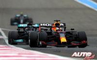 """Verstappen a golpe de """"undercut"""". GP de Francia 2021"""