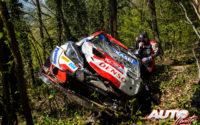 Kalle Rovanperä sufría un espectacular accidente al volante del Toyota Yaris WRC durante el primer tramo cronometrado del Rally de Croacia 2021, puntuable para el Campeonato del Mundo de Rallies WRC.
