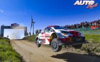 Elfyn Evans, al volante del Toyota Yaris WRC, obtenía la victoria en el Rally de Portugal 2021, puntuable para el Campeonato del Mundo de Rallies WRC.