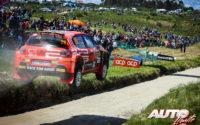Eric Camilli, al volante del Citroën C3 Rally2 WRC 2, durante el Rally de Portugal 2021, puntuable para el Campeonato del Mundo de Rallies WRC 2.