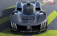 """Peugeot 9X8 LMH, el """"hypercar"""" del león en 2022"""