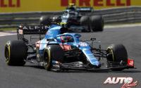 Primera victoria de Ocon y Alpine. GP de Hungría 2021