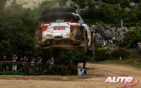 Takamoto Katsuta, al volante del Toyota Yaris WRC, durante el Rally de Italia / Cerdeña 2021, puntuable para el Campeonato del Mundo de Rallies WRC.