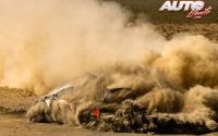 Takamoto Katsuta, al volante del Toyota Yaris WRC, durante el Rally Safari de Kenia 2021, puntuable para el Campeonato del Mundo de Rallies WRC.