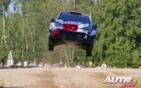 Kalle Rovanperä, al volante del Toyota Yaris WRC, obtenía la victoria en el Rally de Estonia 2021, puntuable para el Campeonato del Mundo de Rallies WRC.