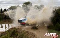 Pepe López, al volante del Skoda Fabia Rally 2 Evo WRC 3, durante el Rally de Italia / Cerdeña 2021, puntuable para el Campeonato del Mundo de Rallies WRC 3.