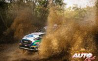 Teemu Suninen, al volante del Ford Fiesta WRC, durante el Rally de Italia / Cerdeña 2021, puntuable para el Campeonato del Mundo de Rallies WRC.