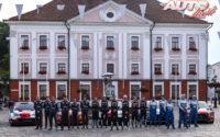 Pilotos WRC durante el Rally de Estonia 2021, puntuable para el Campeonato del Mundo de Rallies WRC 2021.