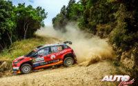 Jan Solans, al volante del Citroën C3 Rally 2 WRC 3, durante el Rally de Italia / Cerdeña 2021, puntuable para el Campeonato del Mundo de Rallies WRC 3.