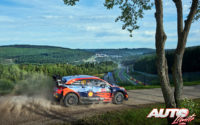 Thierry Neuville, al volante del Hyundai i20 Coupé WRC, obtenía la victoria en el Rally de Bélgica 2021, puntuable para el Campeonato del Mundo de Rallies WRC.